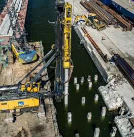 The ferry terminal in świnoujście - dynamic and static testing of the bearing capacity of piles
