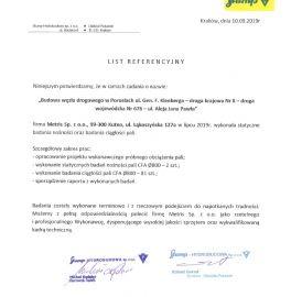 Białystok - Durchgangsprüfung der statischen Tragfähigkeit und des CFA-Pfahls