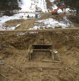 Zabezpieczenie terenów osuwiskowych - badania odbiorcze i badania przydatności gwoździ gruntowych